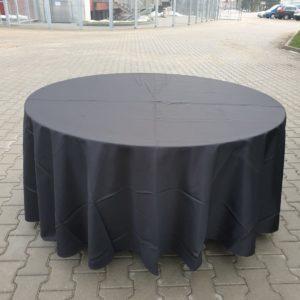 Apaļais galds ar galdautu pasākumiem